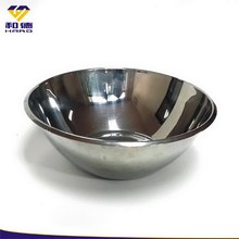 Stainless steel round kitchen food plate
