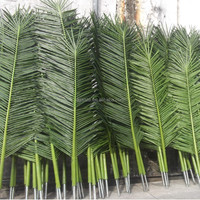 palm branch new product factory Outdoor fake plastic leaf