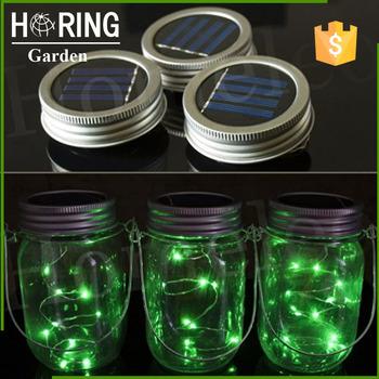 fairy mason colorful jar solar powered lantern mason jar solar light garden - Solar Powered Lanterns
