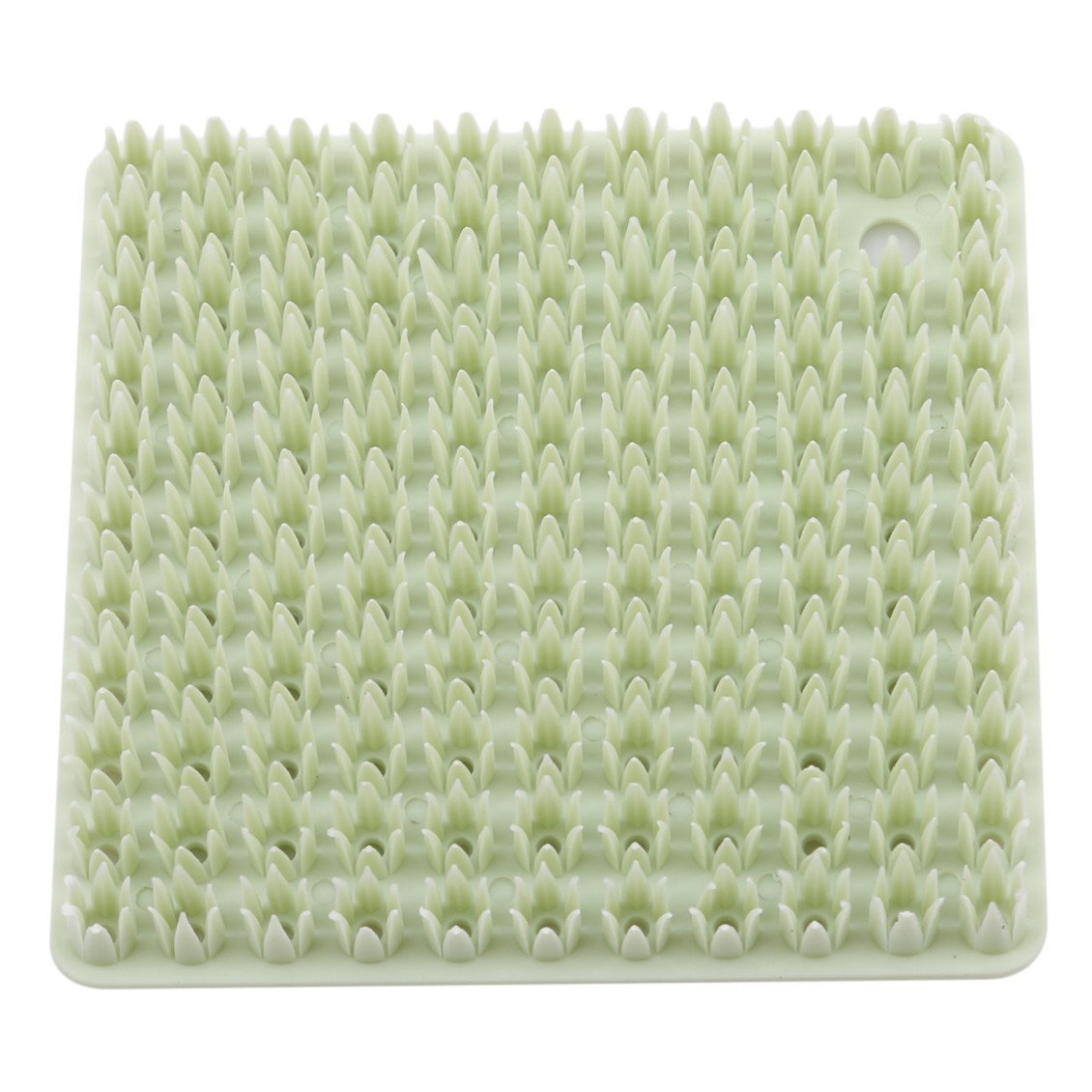 Dolland Silicone Washing Brush Silicone Dish Scrubber Kitchen Tool For Dishwashing,Green