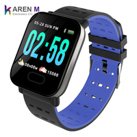2019 Cheap Smartwatch A6 Smart bracelet with Heart rate Monitor Blood Pressure IP67 Smart Watch Band