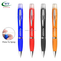 Promotional Ball Pen Hand Sanitizer Spray Pocket Waterless 10ML Hand Sanitizer