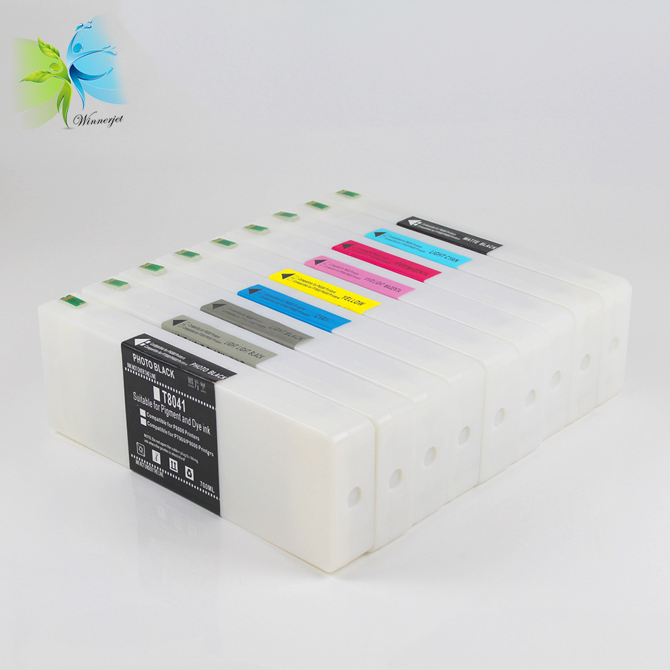 China 2018 hot sale 700ml compatible printer cartridge for Epson P6000 P8000 P7000 P9000
