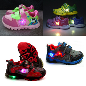 1c58645fe36d Custom battery operated led shoes light /kids light up shoes with vibration  switch