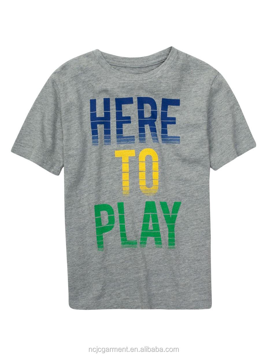 f085e2531c9 Boys Kids T-shirts Design Kids T-shirt Printed T-shirts Kids - Buy ...