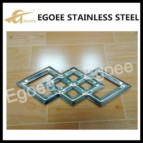 Decorative stainless steel new window grill design