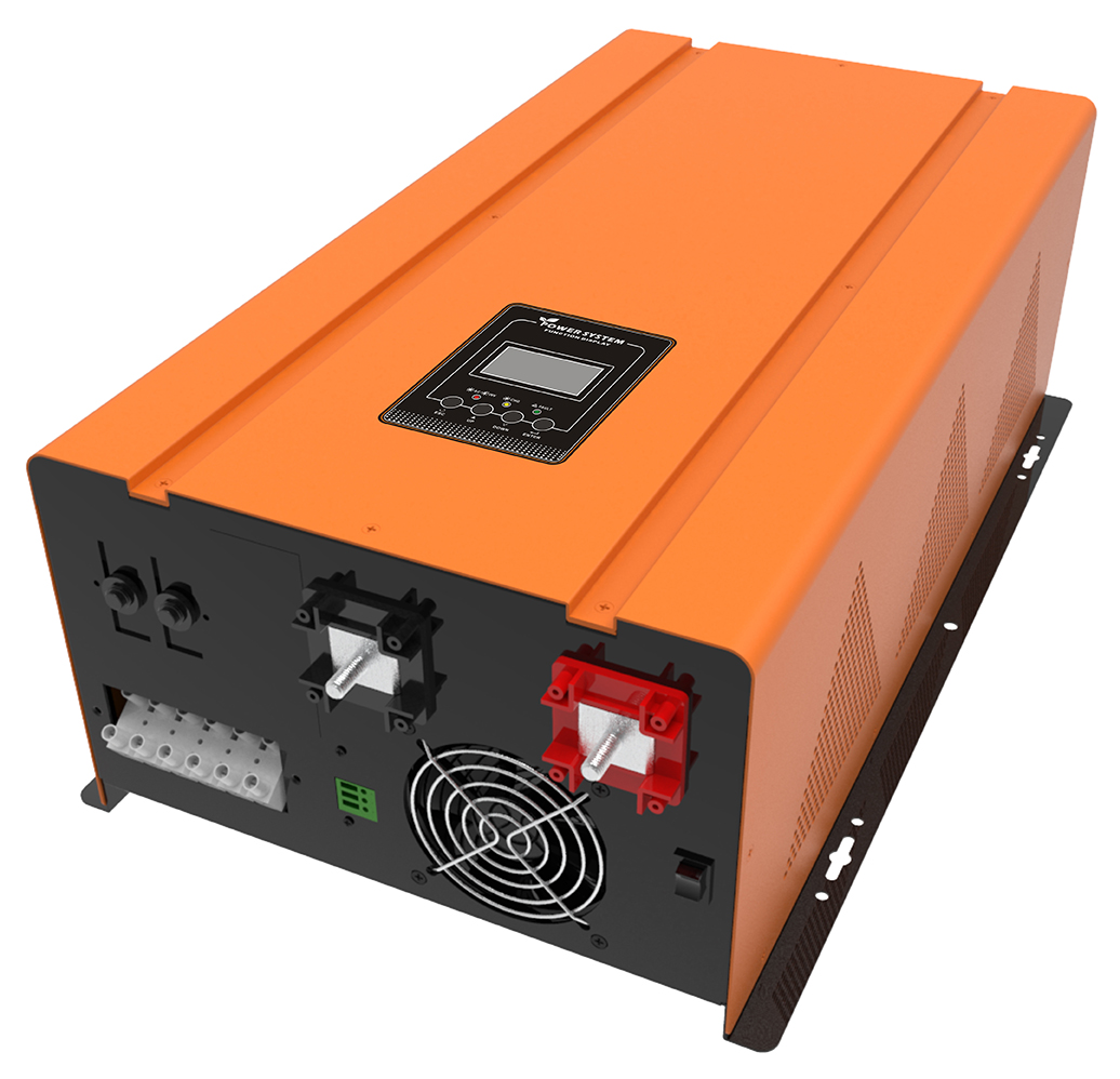 DC to AC 12V/24V/48V to 220V psw7 3000W ring copper transformer low frequency pure sine wave inverter  power inverter for home