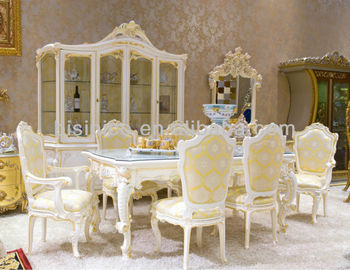 Luxury Home Dining Table Setfrench Classical And Chair Antique Stylewooden