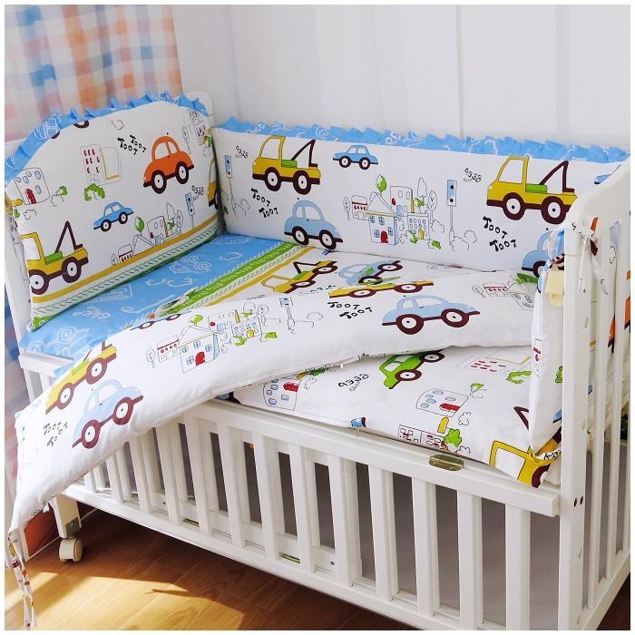Online Shopping Car Crib Sheets