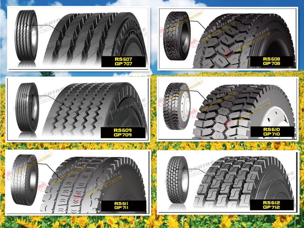 Roadshine Tire 315/80/22.5/tyre 385/65 R22.5/truck Tyre 385/65r22 ...