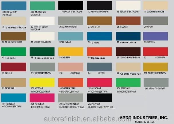 Ruso de la marca abro pintura de aerosol de la marca - Pintura en spray para plastico ...