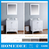 Homedee Chinese Antique bathroom Furniture , Wood tall Cabinet