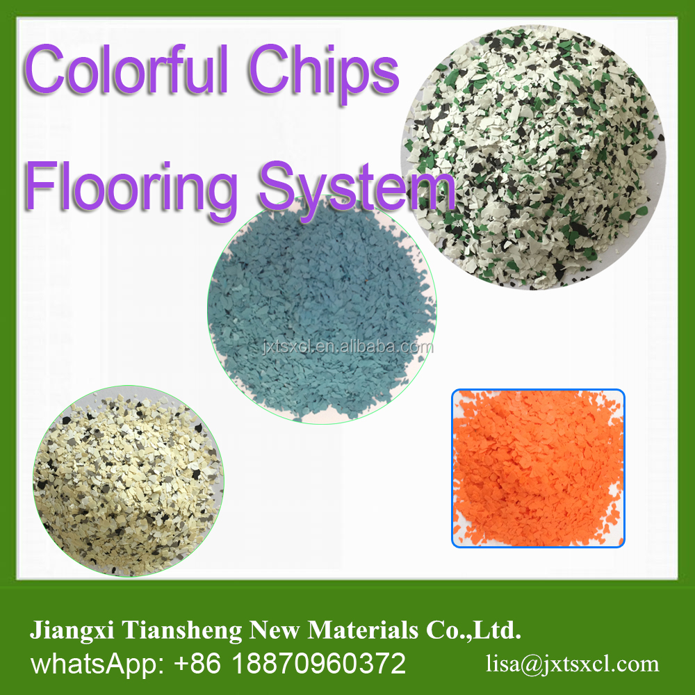 water based epoxy resin Chips System