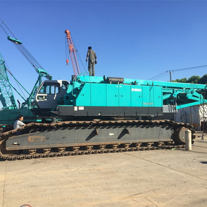 Excellent quality used Kobelc 250 ton crawler crane Japan made for sale