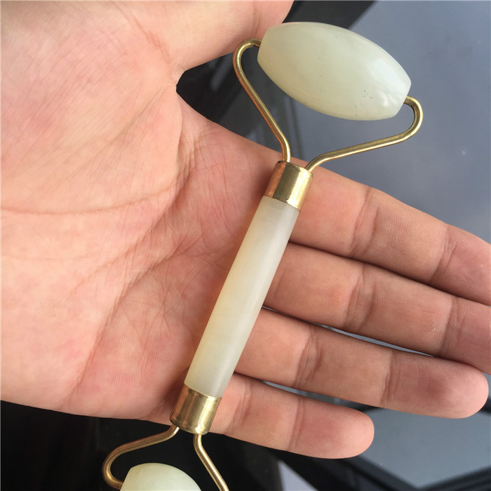 Factory price Amazon Hot Selling Jade Massage Roller For Anti Aging Facial Massager