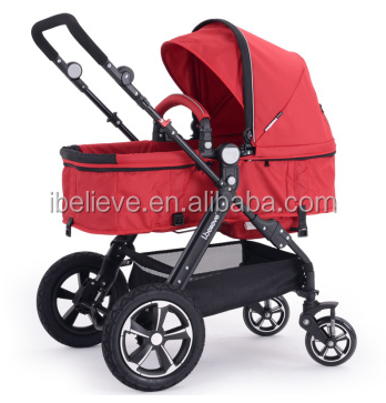 I-S021-Classic European Standard Commercial Stroller Baby 3 in 1 with EN1888