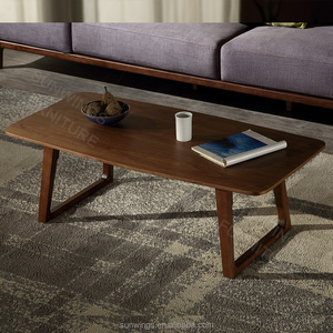 Nordic modern wooden tea table design using for living room