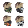Custom Neoprene bike half designs face shield mask motorcycle with design