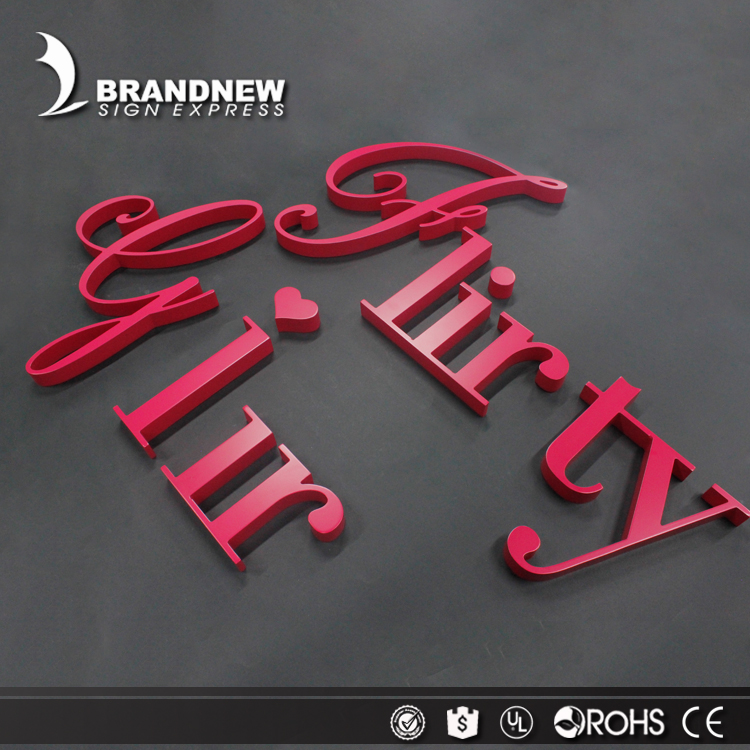 New design acrylic usage engraved letters 3d acrylic letters logo wall sign