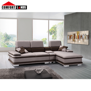 Hot L Shaped Sofa With Corner Table Storage Chaise