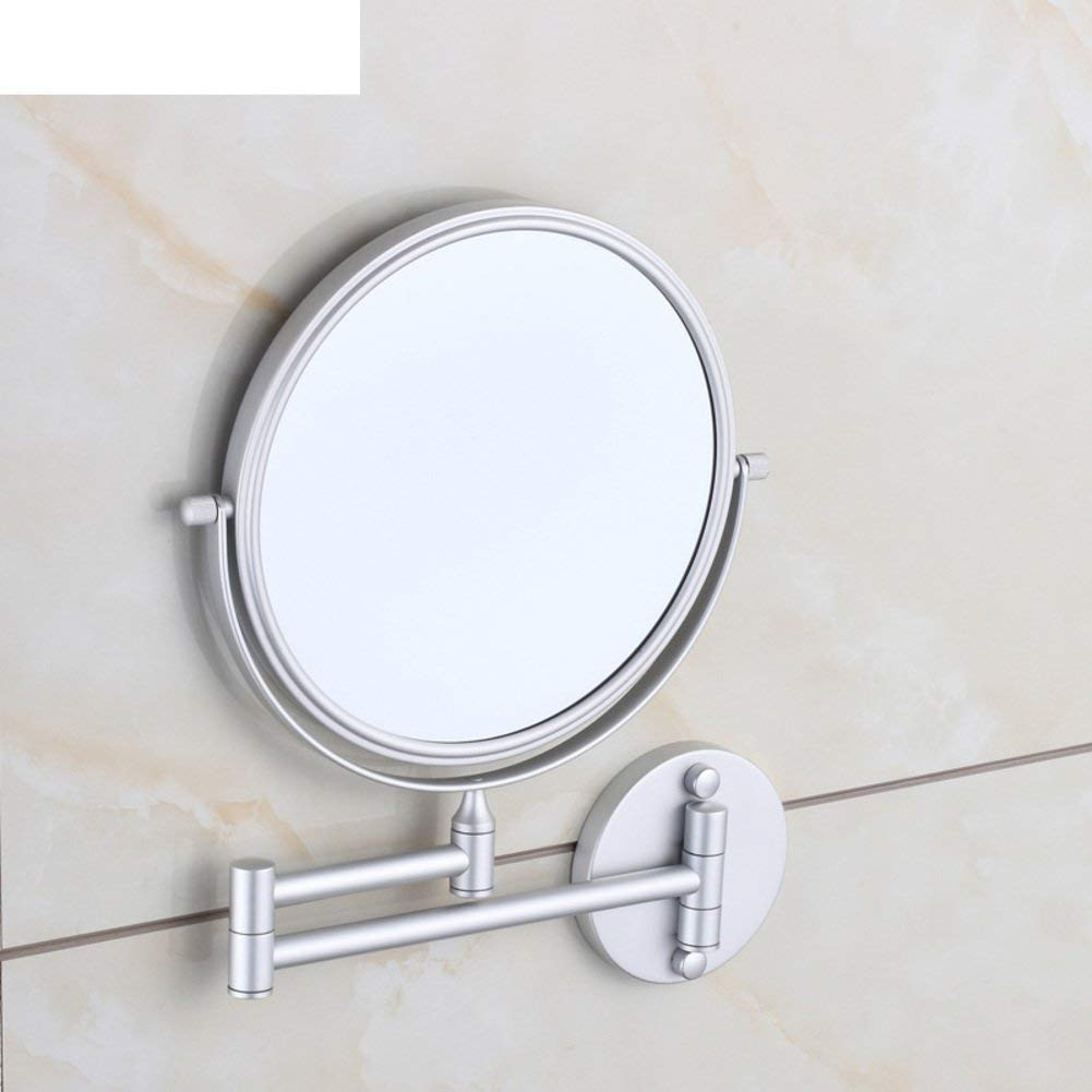 NAERFB Jia Yin Cosmetic mirror/bathroom walls Bathroom Mirrors Mirrors Telescope A- sided magnifying mirror