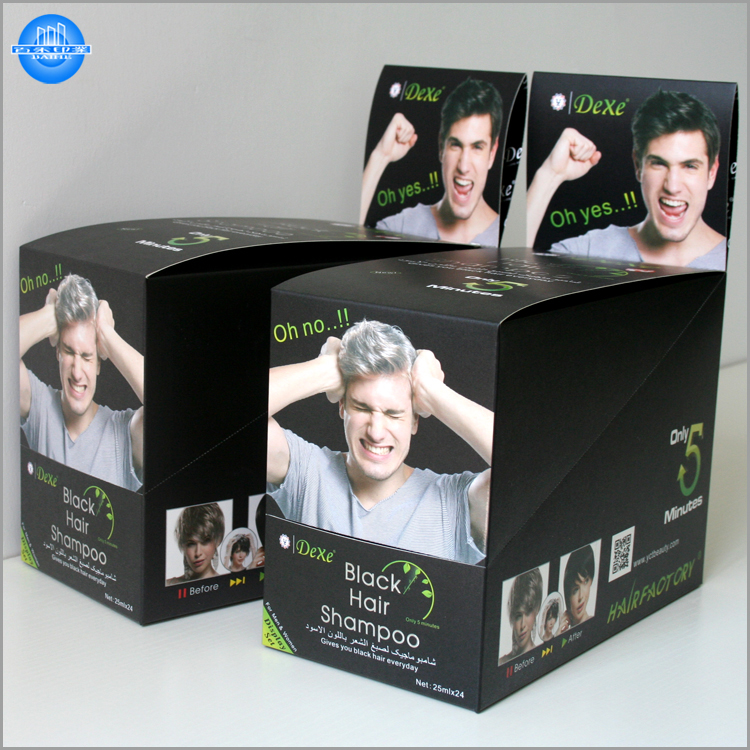 Custom full color printing display folding packaging box