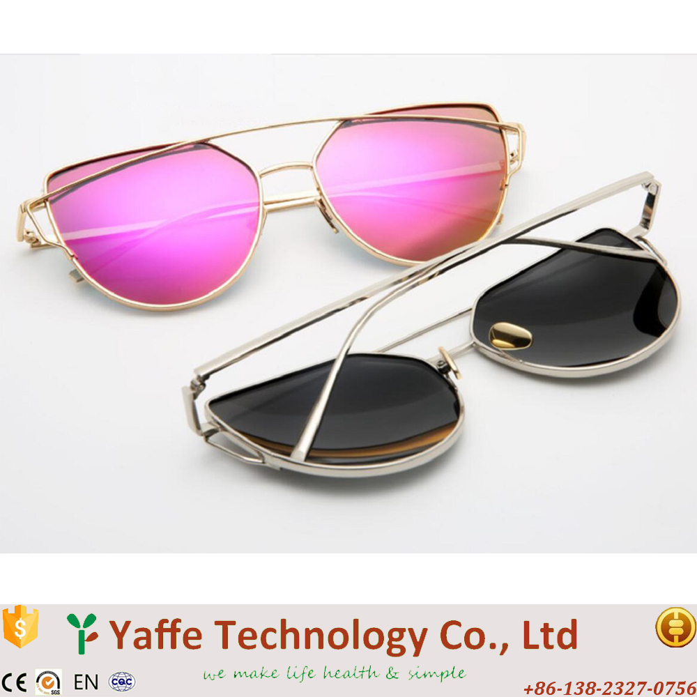2017 New Arrival Metal Sunglasses and gafas de sol and Unisex Travelling Sunglass