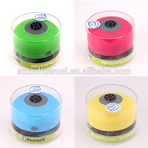 waterproof shower bluetooth speaker bluetooth waterproof vibration speaker with suction cup