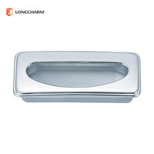 zinc alloy hidden flat drawer handles