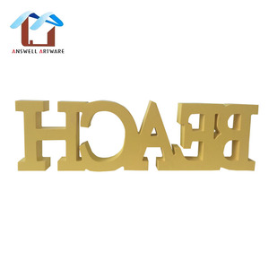 Wholesale Craft Laser Cut Wooden MDF Alphabet Letter For Home Wall Decoration