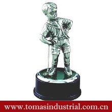 Lovely boy metal award trophy figurine