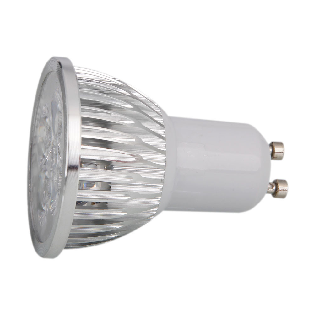 GU10 4W 4LED 320-360LM 2800-3200K Warm White Dimmable LED Spotlight Light