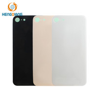 Free sample Glass material housing for iphone 8 back cover housing replacement