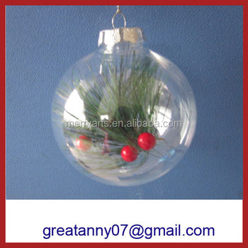Best selling christmas acrylic baubles wholesale clear plastic acrylic  fillable ball ornament 80mm - Best Selling Christmas Acrylic Baubles Wholesale Clear Plastic