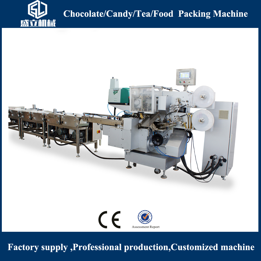 Best Sales Best Quality Square Chocolate Fold Wrapping Machine