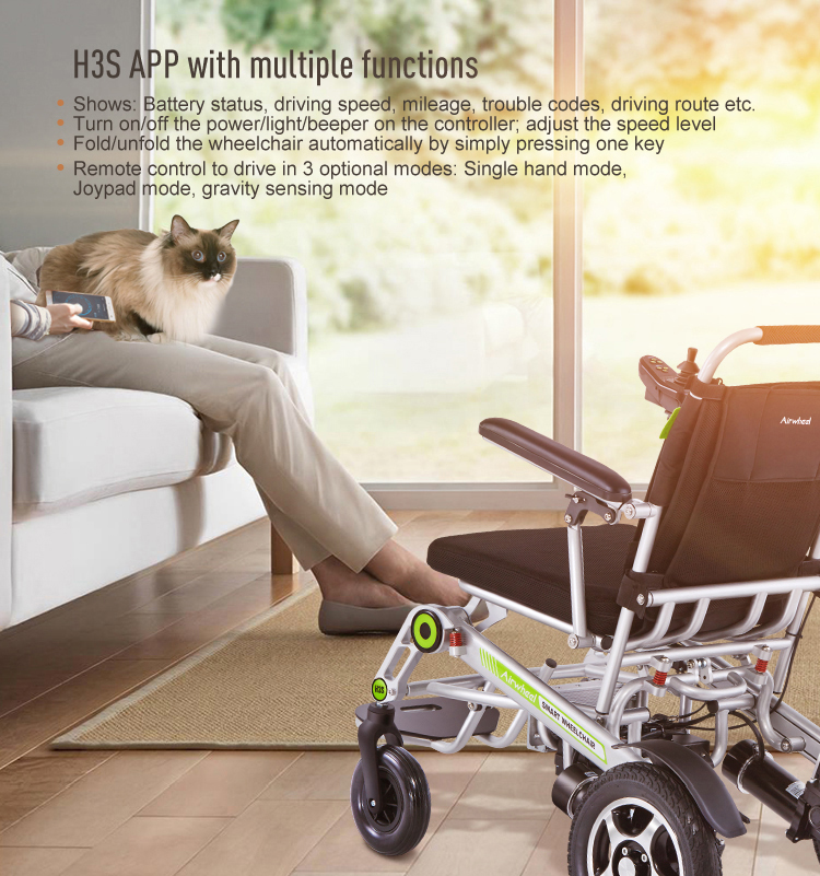 Airwheel H3S Automatic Folding Power Electric Wheelchair