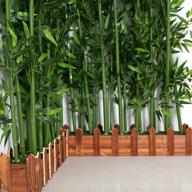 Outdoor Decorative Branches Artificial Lucky Bamboo Plants Tree