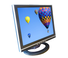 1280x1024 12V DC Computer Monitor Square Screen 14 inch LCD Monitor