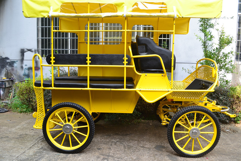 European Horse Drawn Tourist Carriage For Sale With