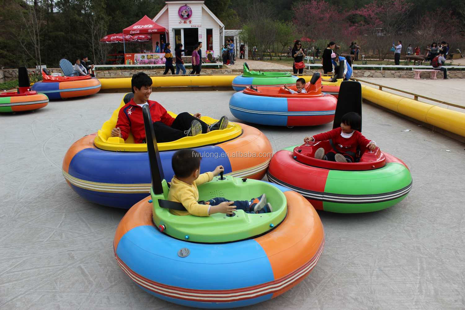 Inflatable Donut Bumper Cars With Tuv Buy Kids Bumper Car Ice