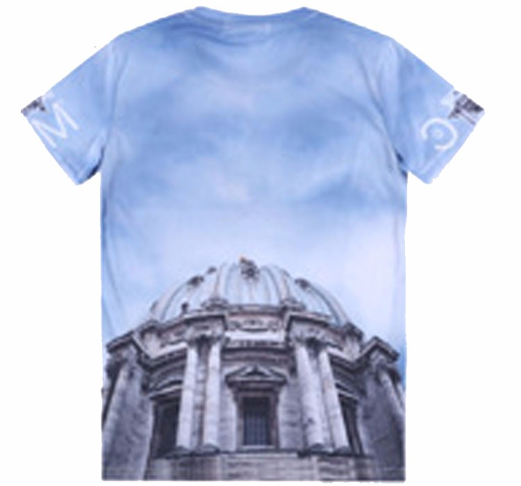 Best selling fashionable cut and sew design t shirt