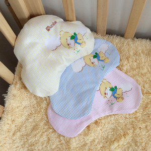 TC14008 Super soft baby head pillow new design cute baby crib pillow