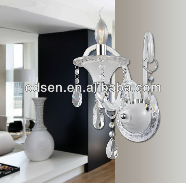 hotel decoration energy lighting candle wall sconces