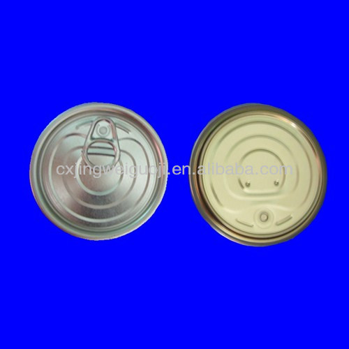 Tinplate Easy Peel Off Ends/Lids 300#(73MM)