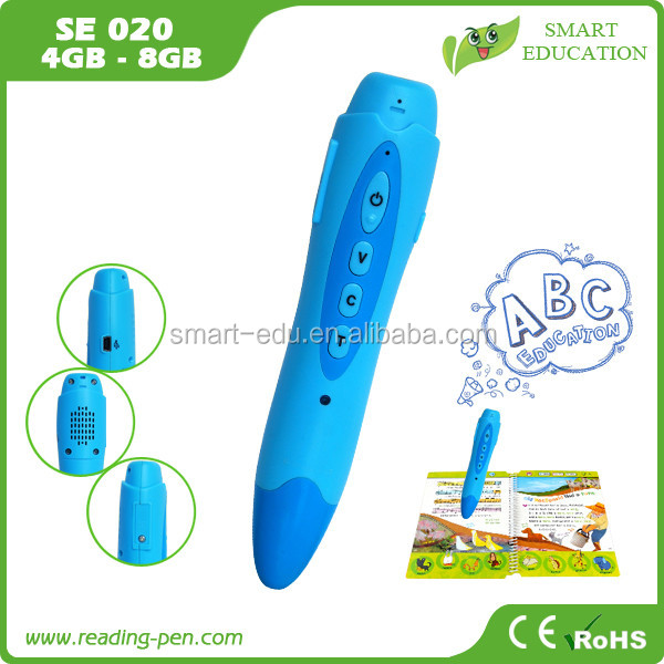 Magic touch talking pen for kids, adopt OID printing technology, poweful and wizardly to learn English Russian French Turkish