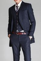white stripe black suits, formal jacket suit