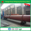 Energy-saving rotary drum type 1200kg per hour wood waste drying system with factory price