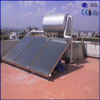 black chrome solar hot water heater diy