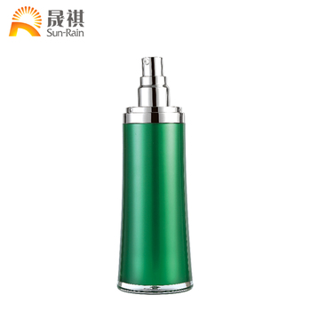 New Design Waistthinned Highend Green Color Fancy Decorative Enchanting Decorative Lotion Bottles