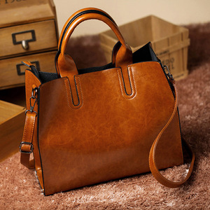 ACELURE Leather Handbags Big Bag for women Casual Ladies Large Bolsos Female Trunk Tote Shoulder Bag